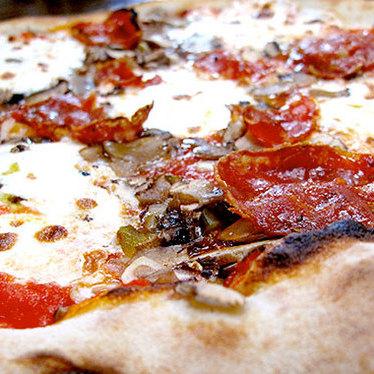 Axel Rosenberg pizza at Roberta's Pizza
