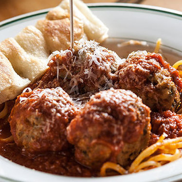 Classic beef meatballs at The Meatball Shop