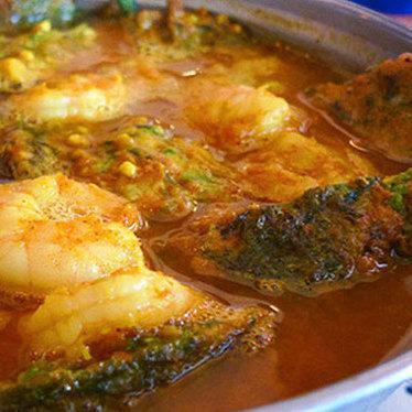 Acacia leaf omelet at Jitlada Thai Restaurant