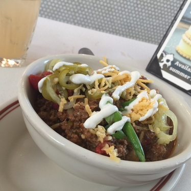 Goat Chili at Little Goat Diner