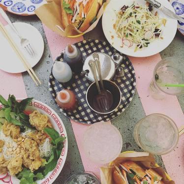 Banh Mi at Elizabeth St. Café
