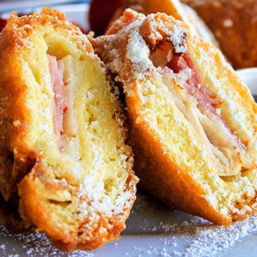 Monte Cristo sandwich at Café Orleans