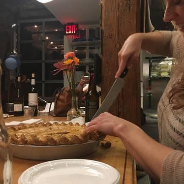 Tomato Pie at Staplehouse