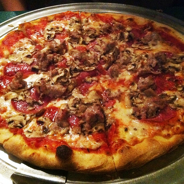House special pizza at Pasquale's Pizza
