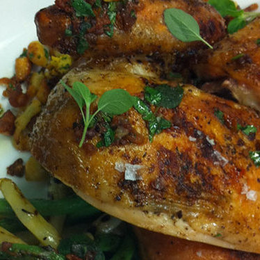 Roasted chicken at Arlequin Cafe & Food To Go