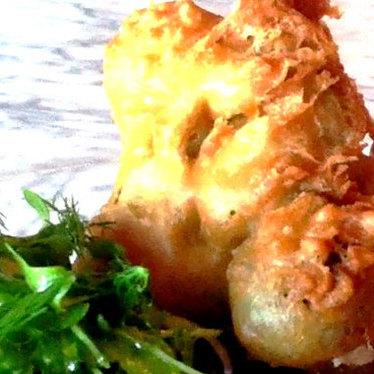 Fried broccoli at No. 7