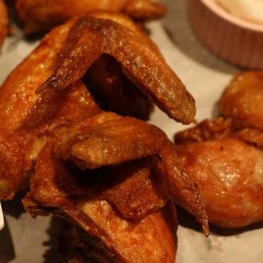 Fried chicken at Cafe Duck Butt