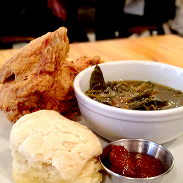 Fried chicken at Egg