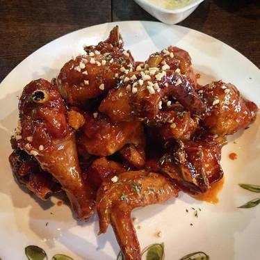 Korean fried chicken at Hanjan