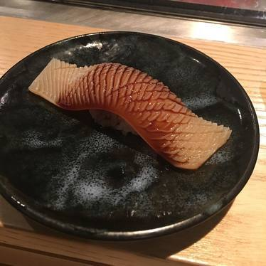 Snapper nigiri at Ushiwakamaru