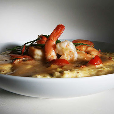 Shrimp & grits at Big Jones