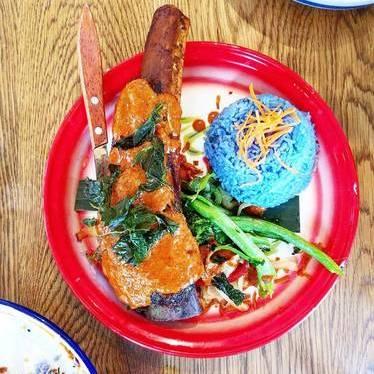 Panang curry short rib at Farmhouse Kitchen