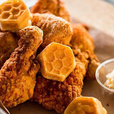 Honey butter fried chicken at Honey Butter Fried Chicken