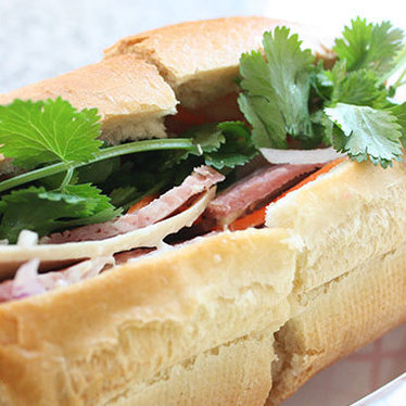 Original bánh mì at Nhú Lan Bakery & Sandwiches
