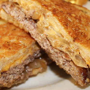 Patty melt at Palace Grill