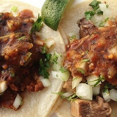 Tacos de lengua at La Pasadita
