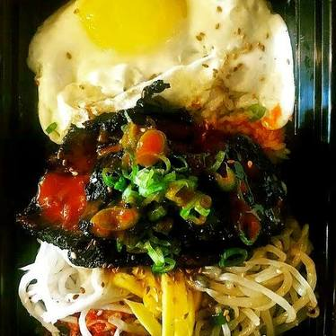 Bibim Bap Bowl at Kim Jong Smokehouse