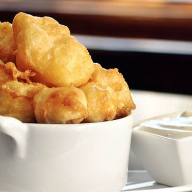 Fried cheese curds at The Bad Apple