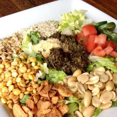 Tea leaf salad at Burma Superstar