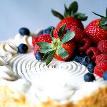 Almond cake at Bi-Rite Creamery
