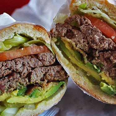 Whiz burger at Whiz Burgers