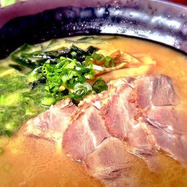 BBQ pork ramen at Katana-Ya