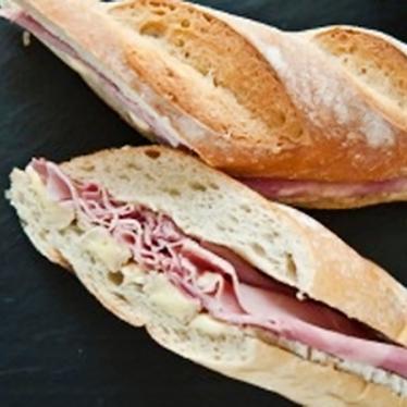Brie de meaux sandwich at St. James Cheese Company