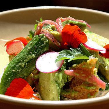 Avocado salad at Nopa