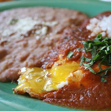 Huevos rancheros at Mijita Cocina Mexicana