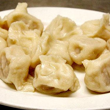 pork w leek dumplings - Qingdao Garden