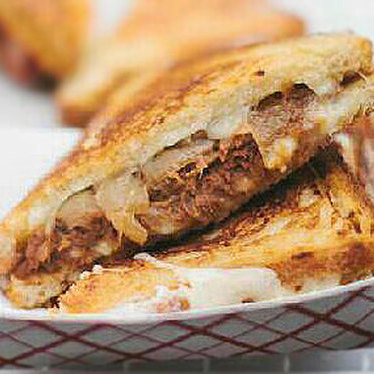 Mighty Rib Melt at Roxy's Gourmet Grilled Cheese Truck