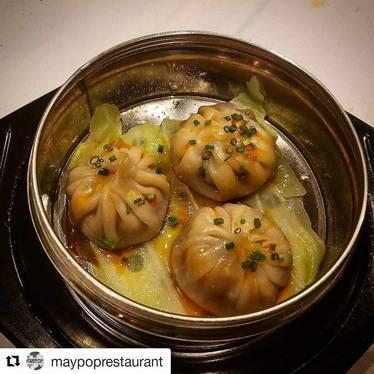 Dumplings with pork and crab at Maypop