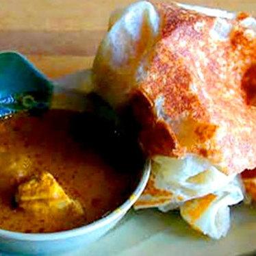 Roti canai at Penang