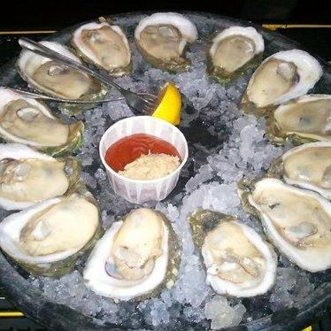 Fontaine's Famous oysters at Fontaine's Oyster House