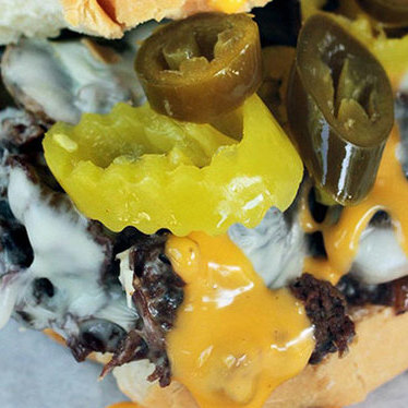 Woody's cheesesteak at Woody's Famous CheeseSteaks