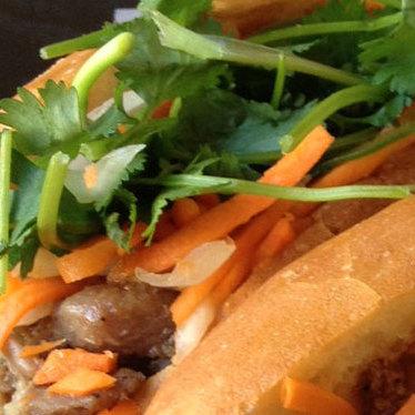 Bánh mì đặc biệt at Quoc Huong Banh Mi Fast Food