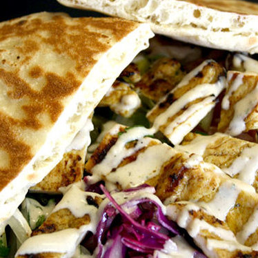 Cornish hen pita at Pita Palace