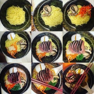 Bin ramen at Bin 707 Foodbar