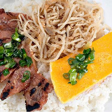 Cơm tấm sườn nướng at Saigon Cafe Duluth