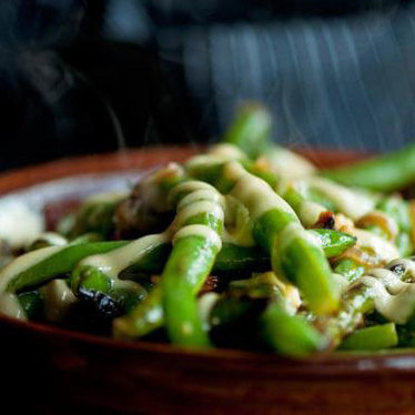 Sautéed green beans at Girl & the Goat