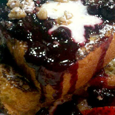 Wild huckleberry pain perdu at Square 1682