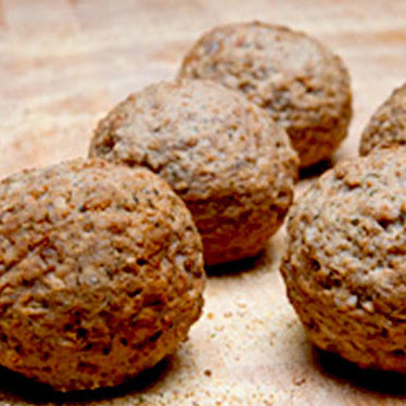 Italian-style meatballs at Talluto's