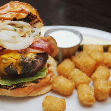 Angus burger at Royal Tavern