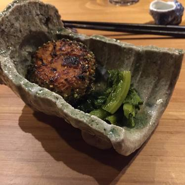 Rice ball at Shibumi