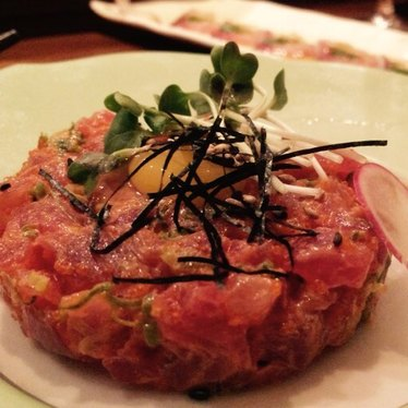 Tuna Tartare at MF Sushi Inman Park
