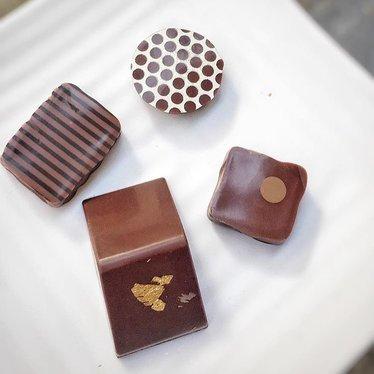 Chocolates at Recchiuti Confections