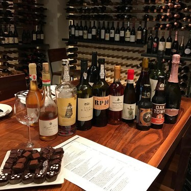 Chocolate and wine pairings at Local Kitchen & Wine Merchant
