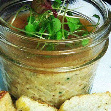 Rabbit rillettes w/ pear preserves at Stateside
