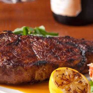 Porcini rubbed Delmonico w/ 12-year aged balsamic at The Capital Grille