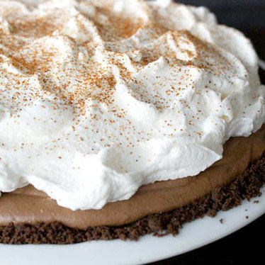 Mexican chocolate mousse pie at A La Mode Pies